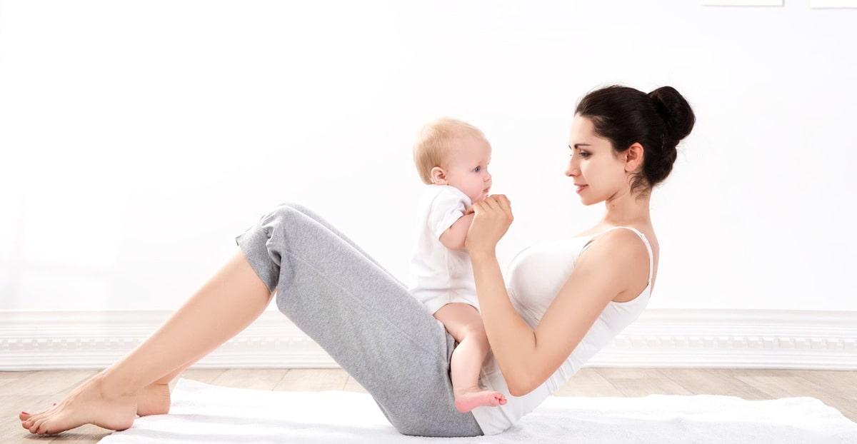 Фитнес для мам и малышей