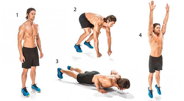 Упражнение Бёрпи