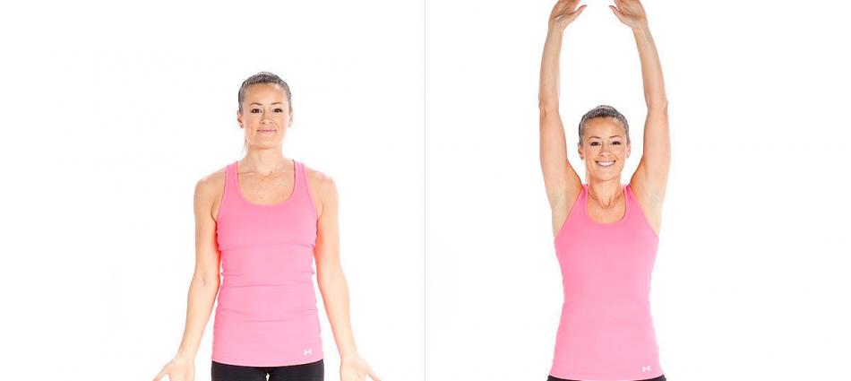 Упражнение Солнышко для девушек